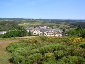 vue d'Aumont-Aubrac